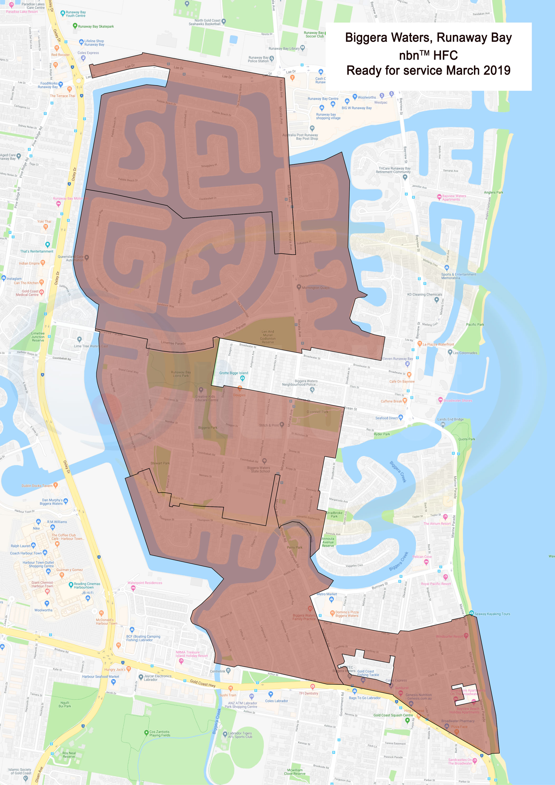 Gold Coast NBN Rollout News & Maps - OntheNet